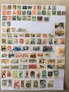 Czechoslovakia 100+ stamps - Lot C