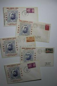 Wayne Stamp Society Detroit MI Exhibition Signed Copy Philatelic Expo Cachet