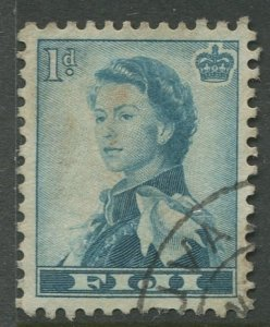 STAMP STATION PERTH Fiji #148 QEII Definitive Issue Used 1954 CV$0.30