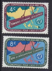 United Nations New York 1960  Asia far east  complete