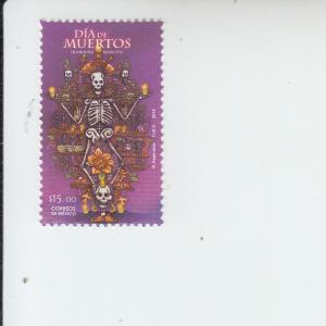 2016 Mexico Day of the Dead (Scott 3031) MNH