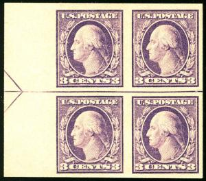 MALACK 483 VF/XF OG NH, Left Arrow Block, these are ..MORE.. w9171