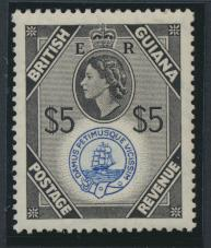 British Guiana SG 345 Mint Light Hinge  (Sc# 267 see details)