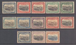 Mozambique Company Scott C1/C13 - SG271/283, 1935 Airmail to 5e MH*