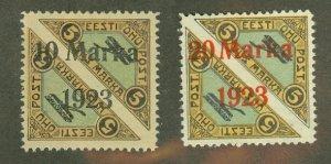 A: Estonia C7-8 mint CV $925