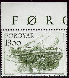 Amazing Faroe Islands SC#151 MNH VF SCV$3.50...Faroe Islands are Magical!