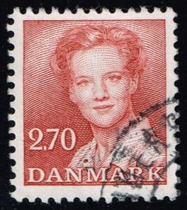 Denmark #708 Queen Margrethe II; Used (0.25)