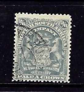 Rhodesia 67 Used 1906 issue