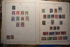 THAILAND 2 OLD COLLECTION  DR SCHULTZ ESTATE MINT AND USED Z633