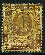 Great Britain # 132, Used  =