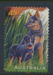 Australia SG 1653  Used self adhesive