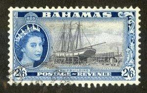 BAHAMAS 170 USED SCV $2.40 BIN $1.00 SHIP