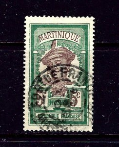 Martinique 65 Used 1908 issue