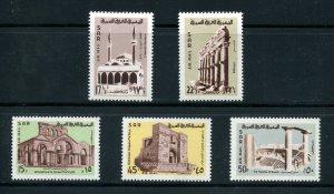 x513 - SYRIA SAR 1968 Sc# C416-C420 Airmail Set. MNH. Old Churches & Mosques