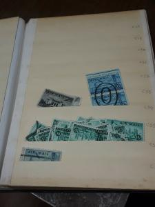 Elbe 25 Page Black Stockbook With USA Airmail & Dues