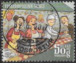 Iceland 1306 Used - Vestmannaeyjar National Holiday - Great Fish Day