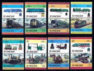 [63464] St. Vincent 1984 Railway Train Eisenbahn Chemin de Fer  MNH
