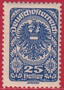 Austria - 1919 - Scott #209 - mint - Coat of Arms