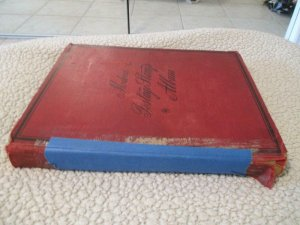 VEGAS - Battered 1928 Scott Album - OLD Stamps Incl China  >160 Photos! FE604