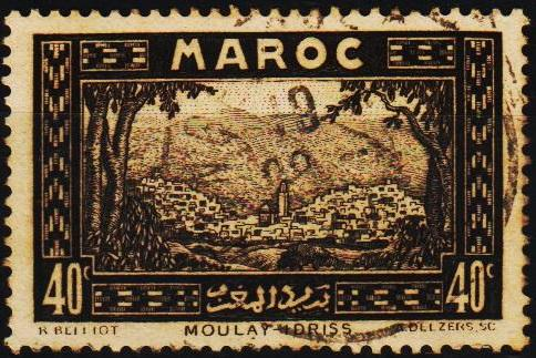 Morocco(French). 1933 40c S.G.178 Fine Used