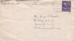 San Juan Bautista to Japanese Assembly Area,1942, See Remark (C1772)