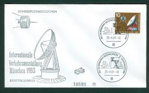 Germany.1965 FDC. Transport And Communication.