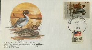 GillCraft RW50 Pintail Federal Duck Stamp Artic Tundra favorite Breeding Ground