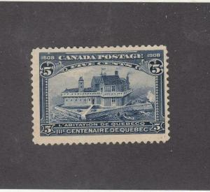 CANADA (MK3546) # 99 VF-MLH  5cts  1608-1908 CHAMPLAIN HABITATION CAT VALUE $150