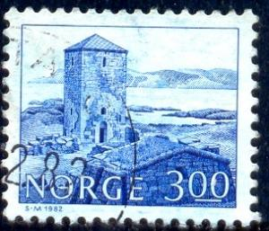 Selie Monastery, 11th Centenary, Norway stamp SC#723 used