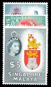 SINGAPORE 40-42  Mint (ID # 73505)