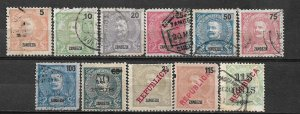 COLLECTION LOT OF #553 ZAMBEZIA 11 MH/USED STAMPS 1898+