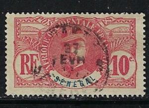 Senegal 61 Used 1906 issue