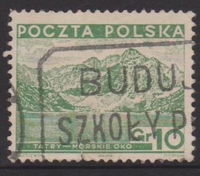 Poland Sc#295 Used Small tear at bottom