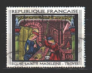 France. 1967. 1598. Paintings. USED.