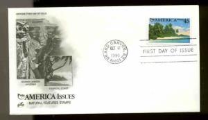 U.S. FDC #C127 Artcraft Cachet Grand Canyon, AZ Americas Issue