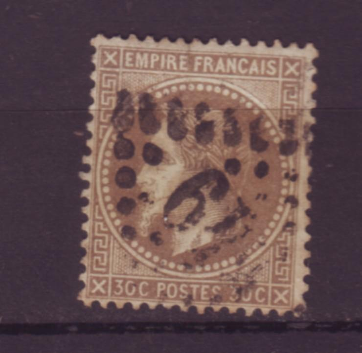 J20103 jlstamps 1863-70 france used #34 napolean