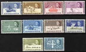 British Antarctic Territory 1963-69 first definitives sho...