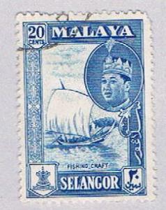 Malaya Selangor 120 Used SultanÿSalahuddin Shah (BP2283)