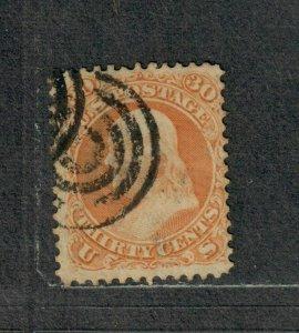 US Sc#71 Used/A, Cv. $225