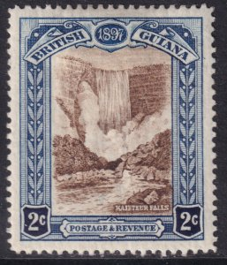 Sc# 153 British Guiana 1898 QV Queen Victoria 60th anniversary 2¢ MMH CV $40.