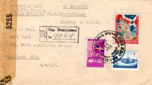 Dominican Republic 3c and 20c Centenary of Independence and 1c Martos Sanitor...