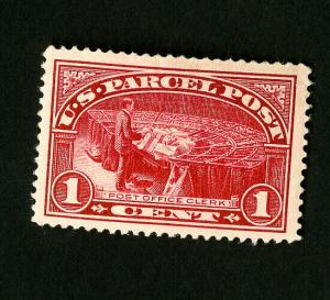 US Stamps # Q1 F-VF Jumbo Slight Creases OG H