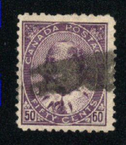 Canada #95  used  VF 1908   PD