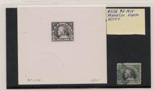 United States Scott $5 Franklin Issue 1918 Photo Essay #524-E by Aubrey Huston