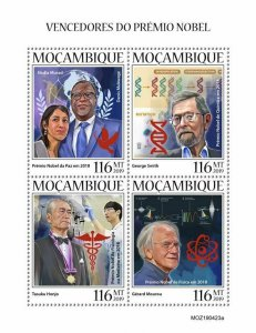 Z08 IMPERF MOZ190423a MOZAMBIQUE 2019 Nobel Prize winners MNH ** Postfrisch