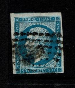 France SC# 15b, Used - Lot 072617