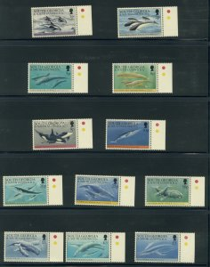 South Georgia 178-89  MNH compl. set cgs