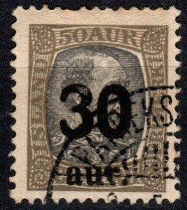 Iceland #137  F-VF Used CV $37.50  (X5727)