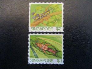 Singapore #461-62 Used - WDWPhilatelic (AZ2ZA)