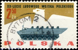 POLAND / POLEN - 1963 Mi.1431 2.50Zl 20yrs People's Army - VF Used